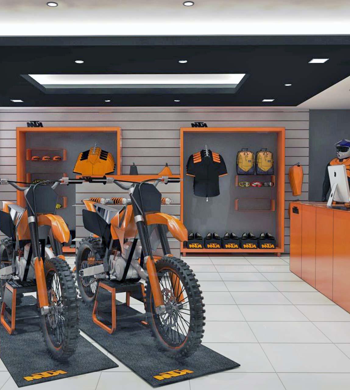 KTM Showroom